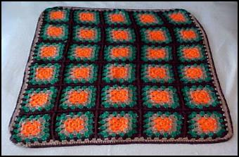 How to Crochet a Granny Square Throw. Part I - Zsuzsy Bee on HubPages