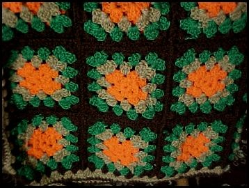 Granny square sweater - If you think granny squares are for